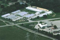 Aerial View of Shamrock Acres Industrial Park
